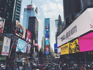 outdoors na times square