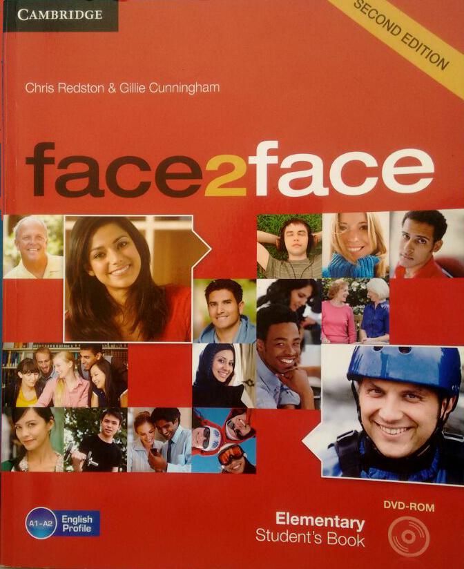 material de áudio face to face elementary