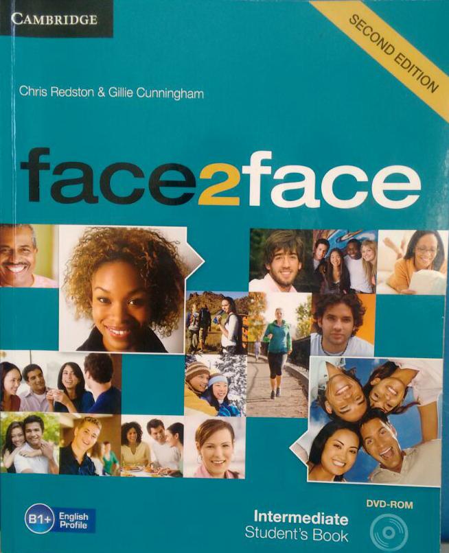 material de áudio livro Intermediate do face to face cambridge